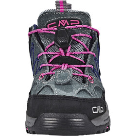 CMP Campagnolo Rigel Low WP Trekking Shoes Kinder grey-hot pink